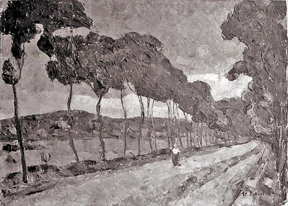 Pictură - Ştefan Dimitrescu; Peisaj - Muzeul Judeţean Mureş. Secţia de Artă - TÂRGU MUREŞ