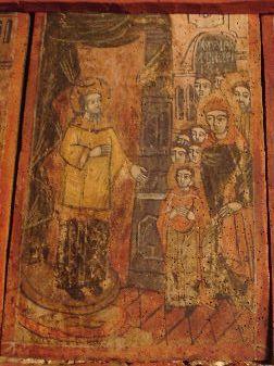 Icoană; Ovidenia - Biserica Veţeni - BĂRĂŞTI