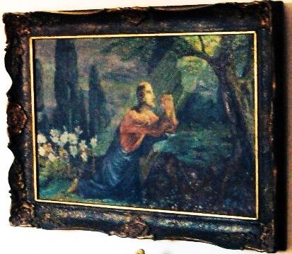 Pictură - Gheorghe Enăchescu; Hristos în grădina Getsimani - Persoană fizică - REGHIN