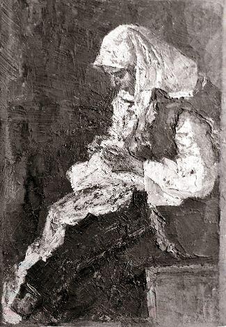 Pictură - Octav Băncilă; Ţărancă cosând - Muzeul Judeţean Mureş. Secţia de Artă - TÂRGU MUREŞ