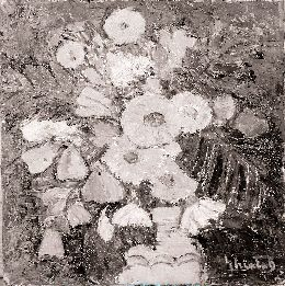 Pictură - Dumitru Ghiaţă; Flori de munte - Muzeul Judeţean Mureş. Secţia de Artă - TÂRGU MUREŞ
