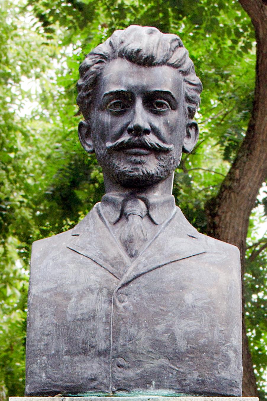 Monument de for public - Moga Radu; Bustul lui Ioan Rusu Şirianu - Primăria Municipiului Arad - ARAD