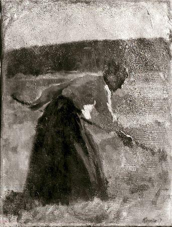 Pictură - Koszta Jozsef; Pe câmp - Muzeul Judeţean Mureş. Secţia de Artă - TÂRGU MUREŞ